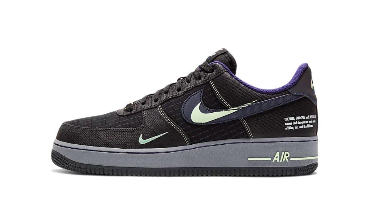 "Nike Air Force 1 Future Swoosh ""Black"""