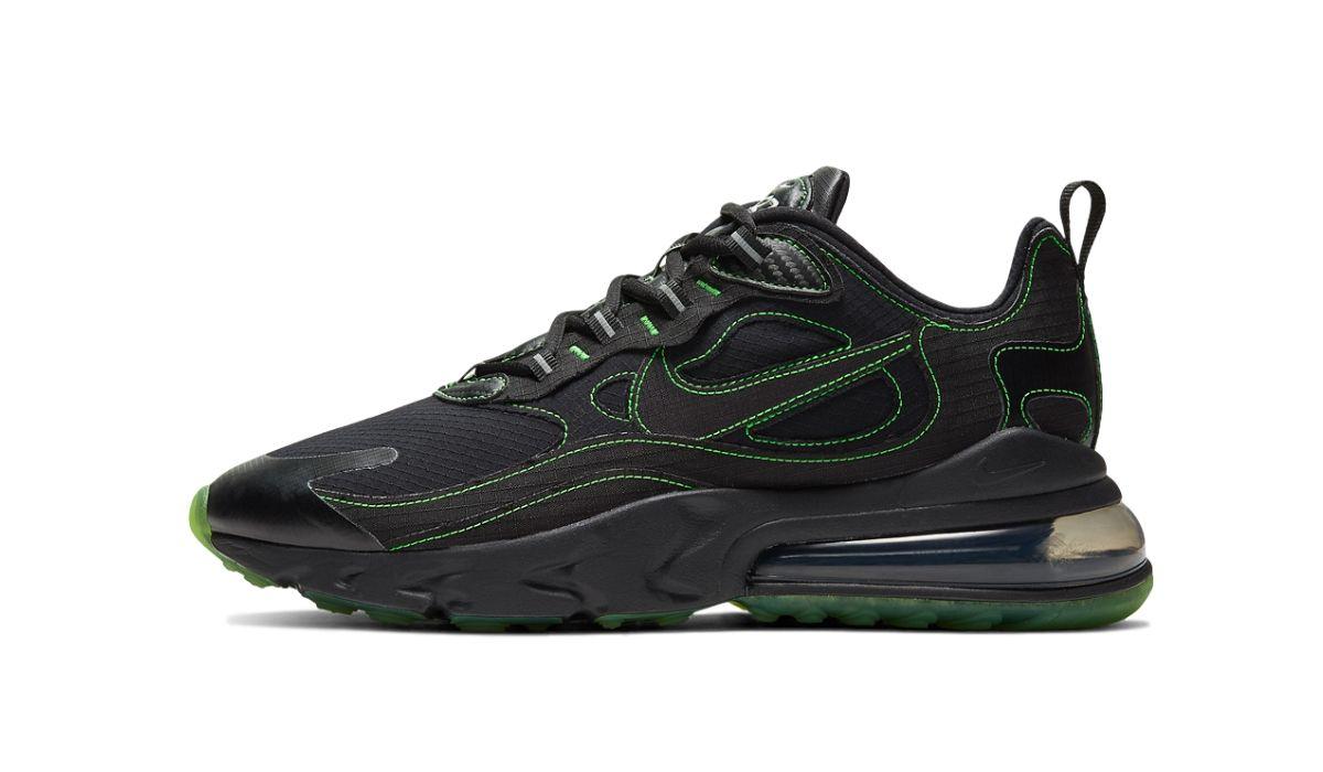 "Nike Air Max 270 React SP ""Black/Electric Green"""