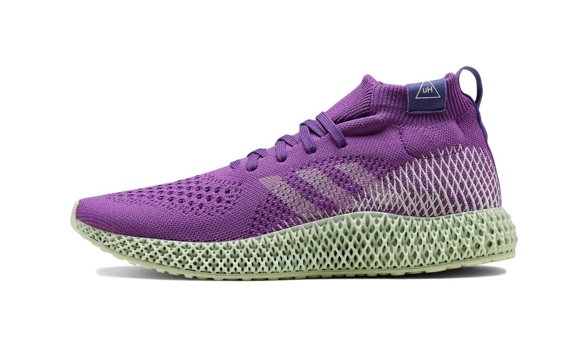 Pharrell Williams x adidas Runner 4D Purple