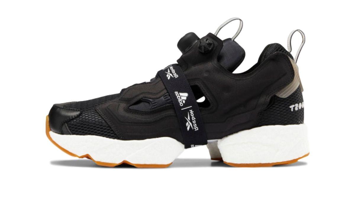 "Reebok x adidas Instapump Fury Boost ""Black/White"""