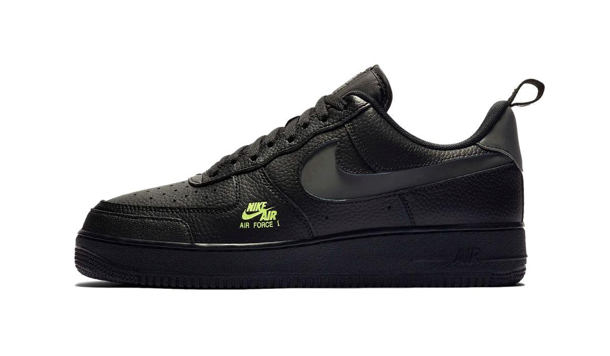 Nike Air Force 1 Utility Reflective Black