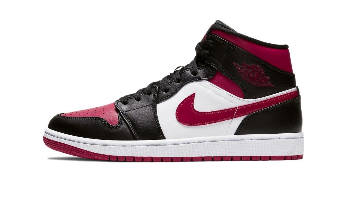 Nike Air Jordan 1 Mid Noble Red
