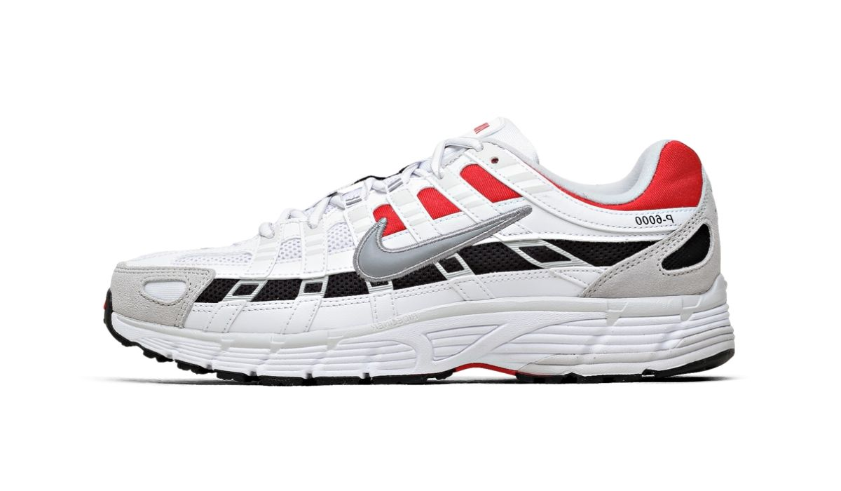 Nike P-6000 White Grey