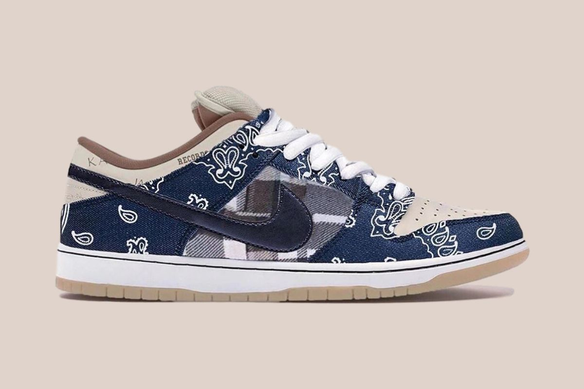 "Travis Scott teaser ny Nike SB Dunk Low ""Cactus Jack"""