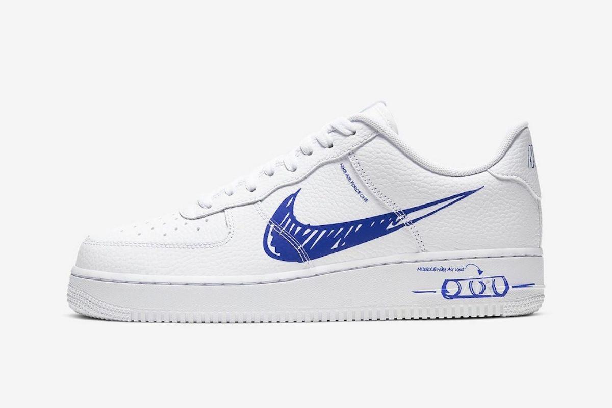 """Nike udvider berygtet """"Sketch Pack"""" kollektion med Air Force 1"""