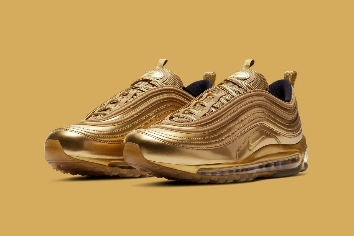Den nye Air Max 97 Metallic Gold er badet i guld