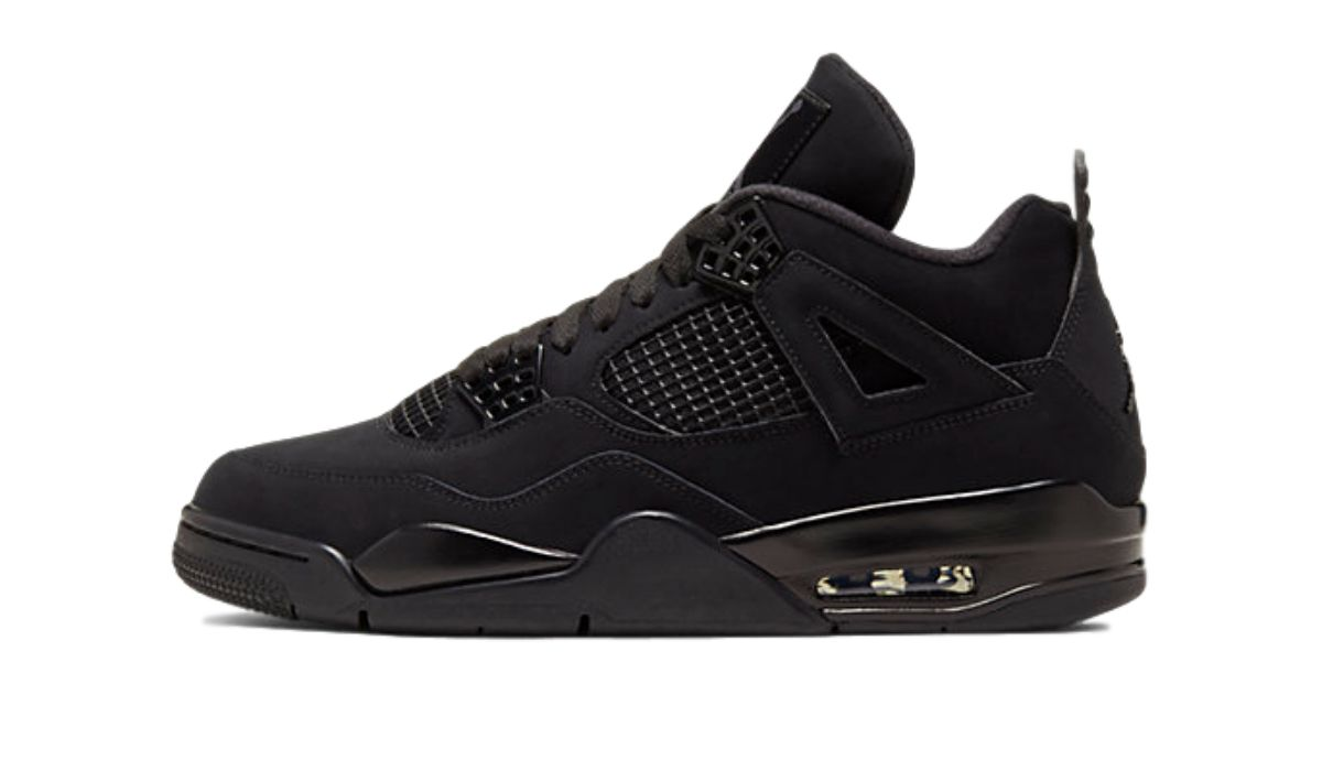 Nike Air Jordan 4 Black Cat