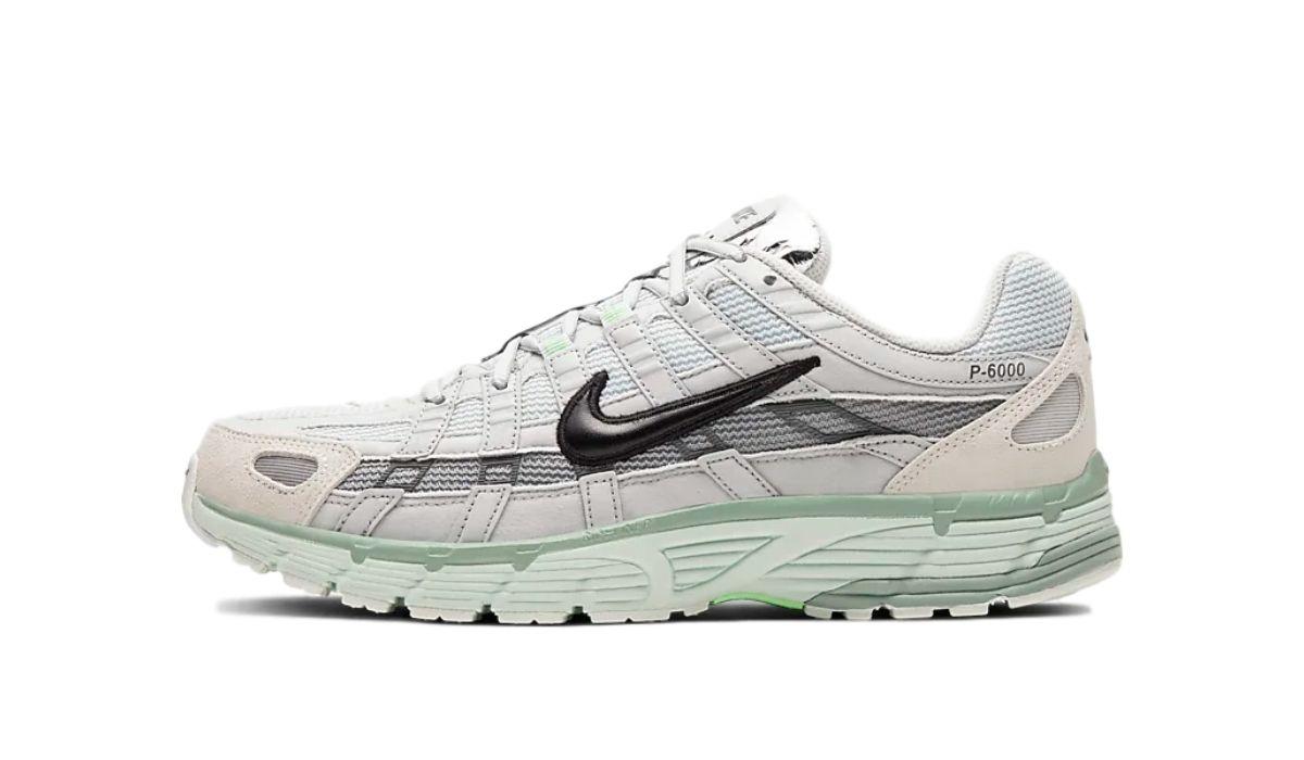 Nike P-6000 Grey/Green