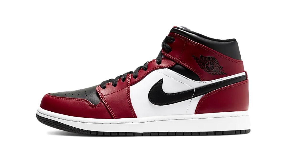 Nike Air Jordan 1 Mid Gym Red Black
