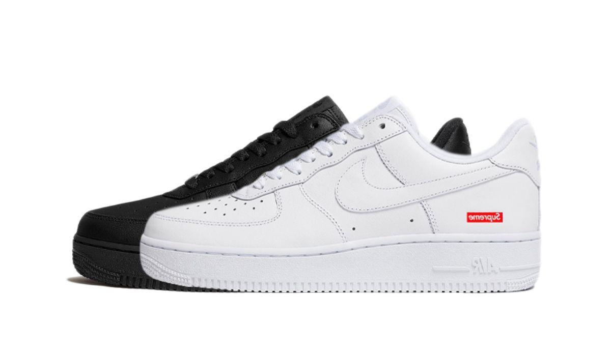 Supreme x Nike Air Force 1 Low Pack