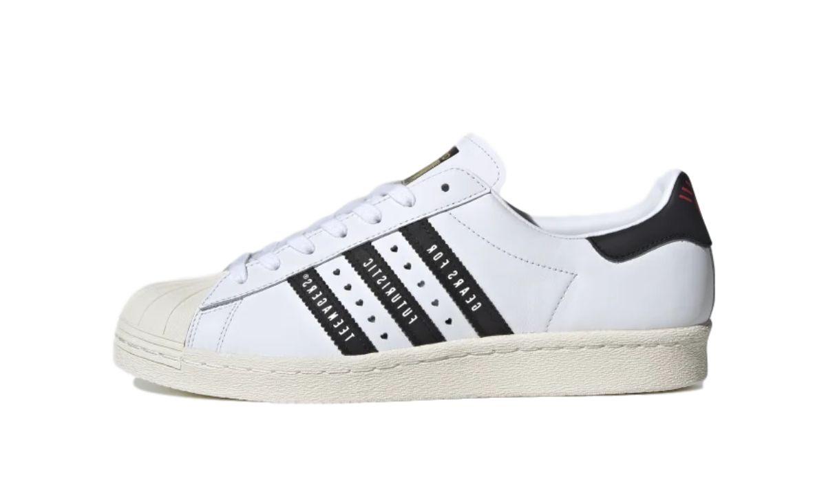 Human Made x adidas Superstar White/Black