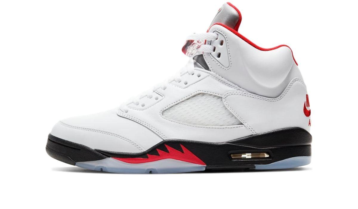 Nike Air Jordan 5 Retro Fire Red