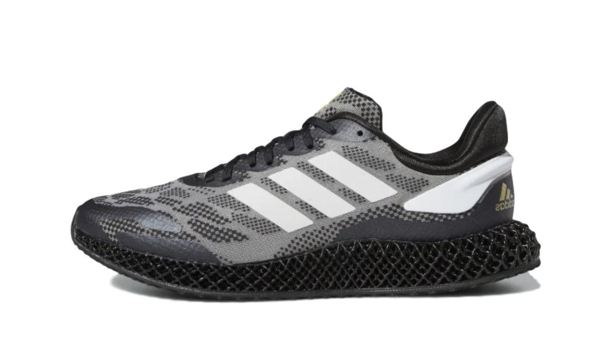 adidas 4D Run 1.0 Black/White