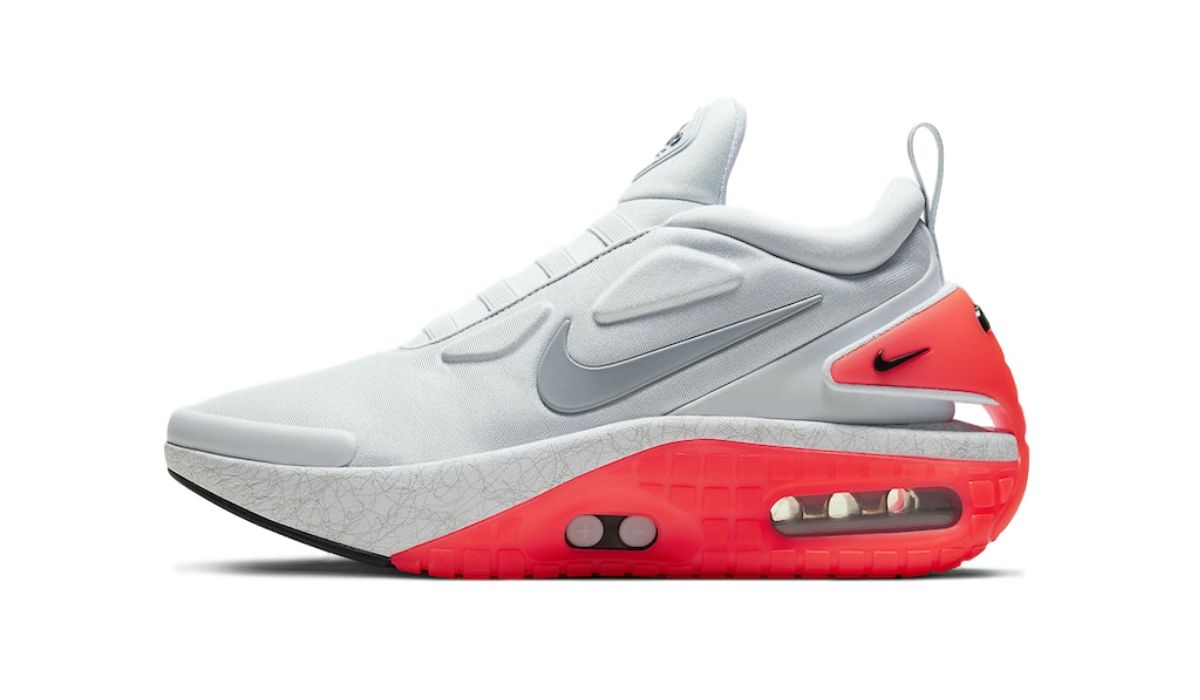 Nike Adapt Auto Max Grey Infrared