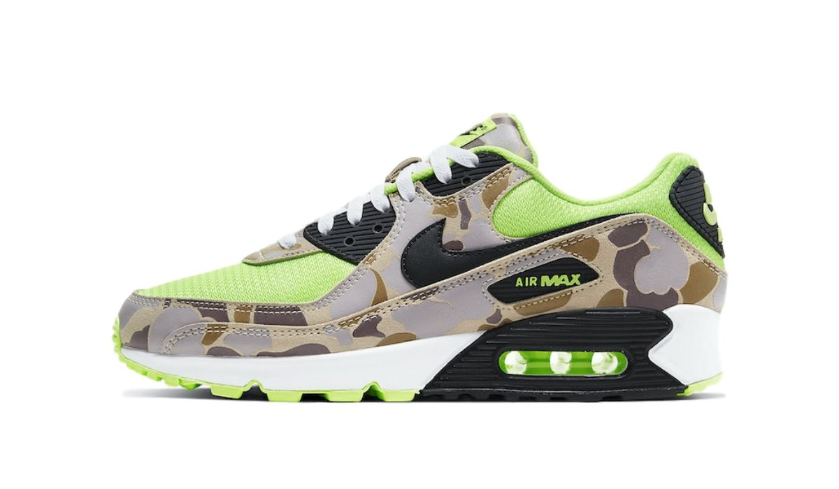 Nike Air Max 90 Green Duck Camo