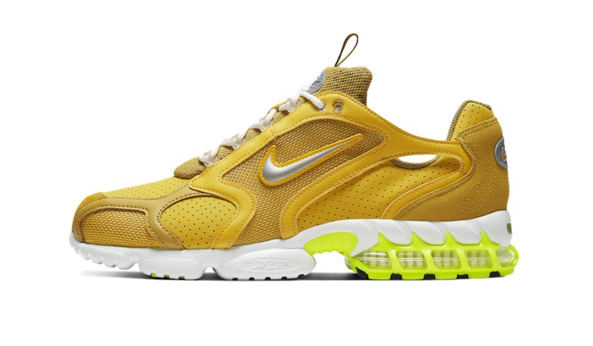 Nike Zoom Spiridon Caged Yellow Volt