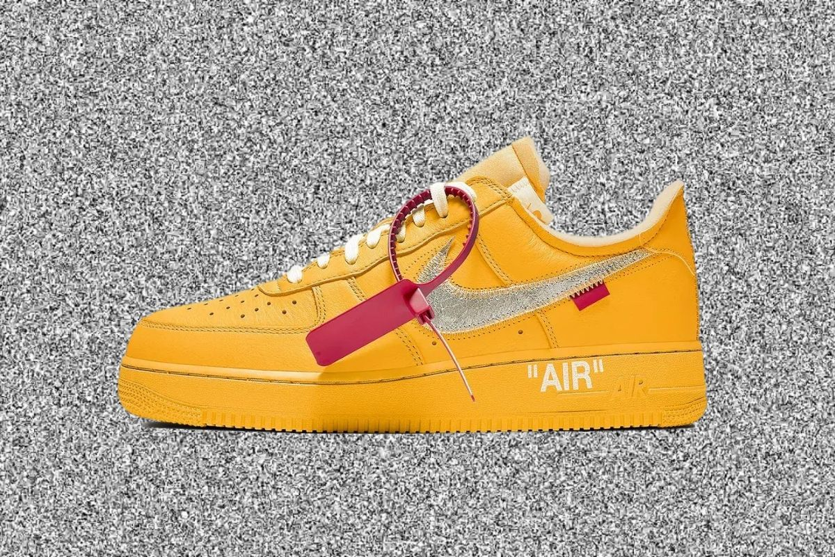Nike og OFF-WHITE lancerer ny Air Force 1 i 2021