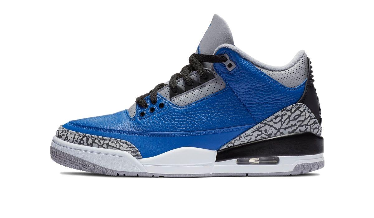Nike Air Jordan 3 Blue Cement
