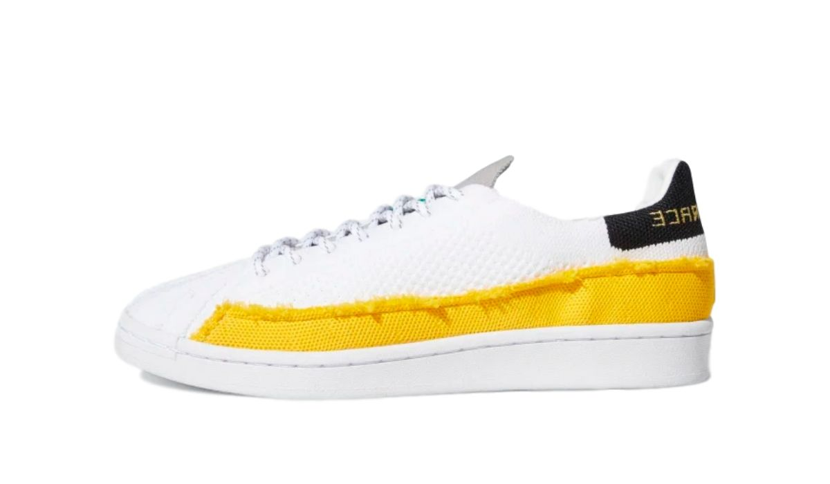 Pharrell Williams x adidas Superstar HU White