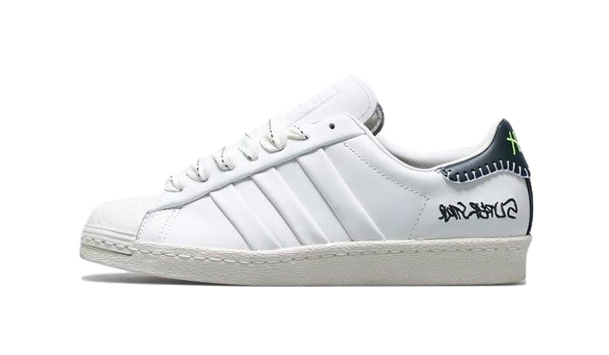 Jonah Hill x adidas Superstar White Black