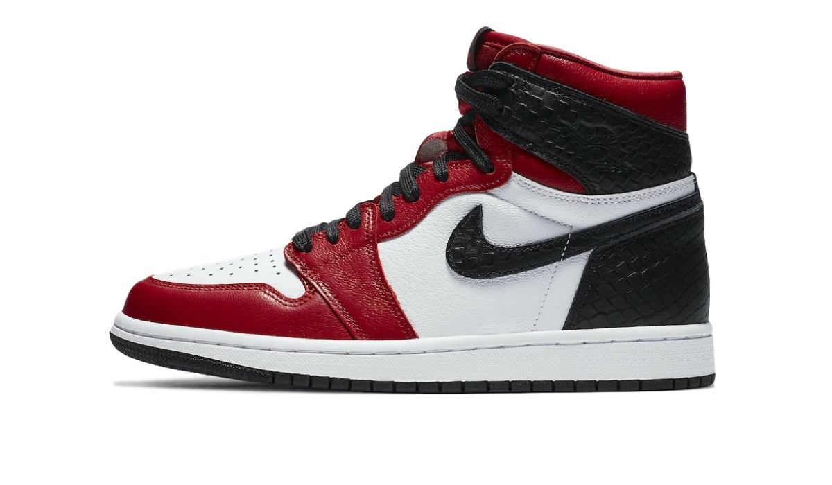 Nike WMNS Air Jordan 1 High Satin Red