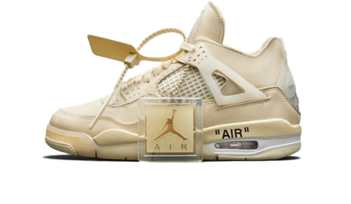 OFF-WHITE x Nike WMNS Air Jordan 4 Sail