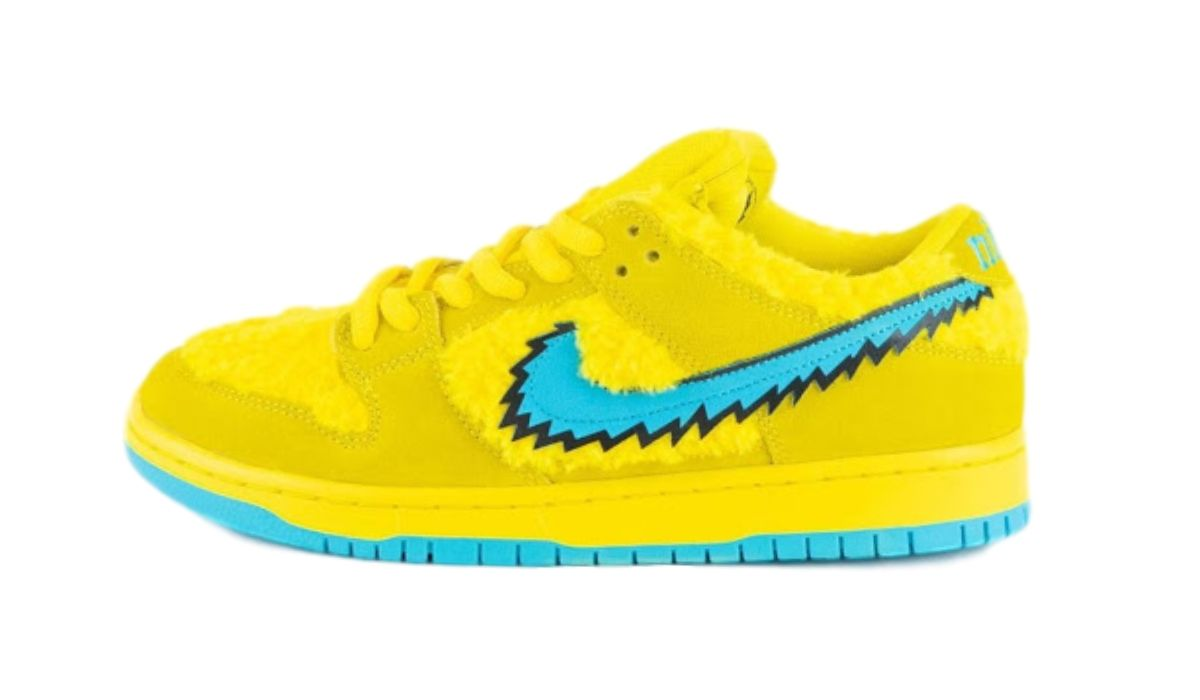 Grateful Dead x Nike SB Dunk Low Yellow Bear