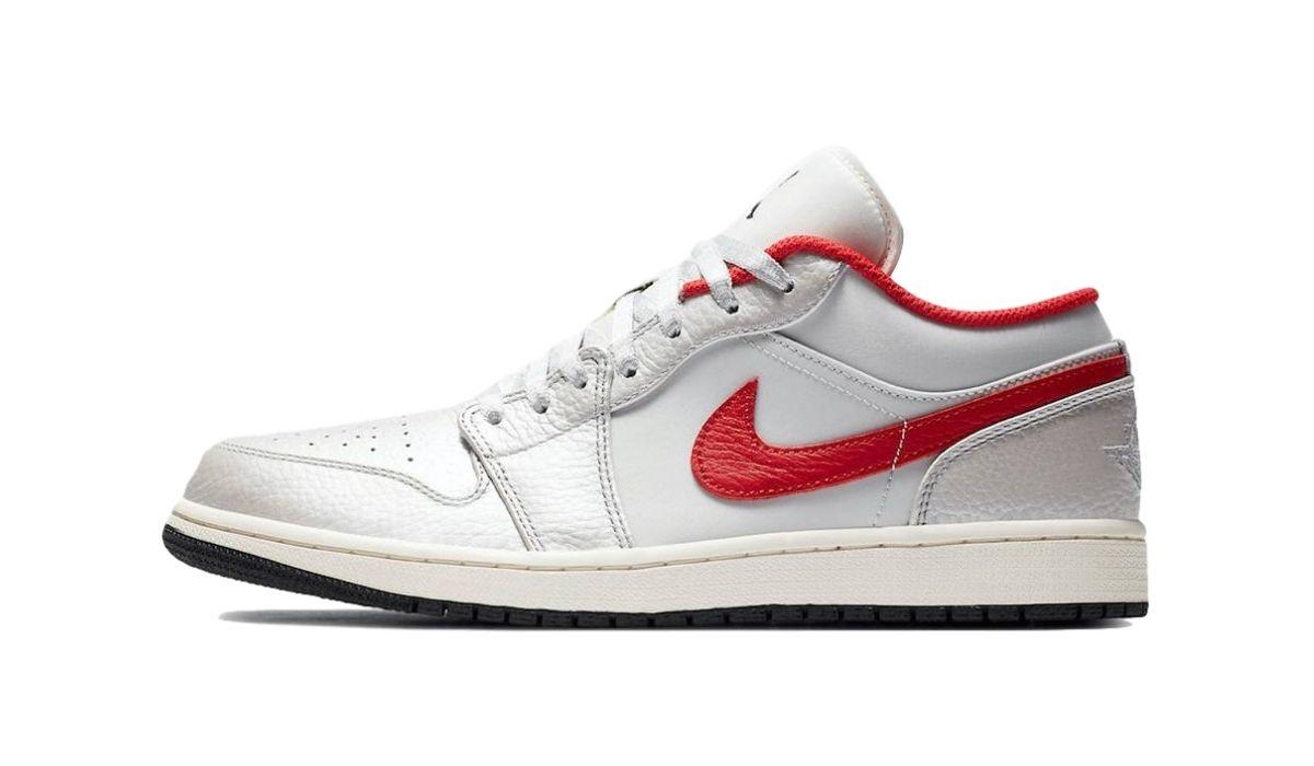 Nike Air Jordan 1 Low White Red
