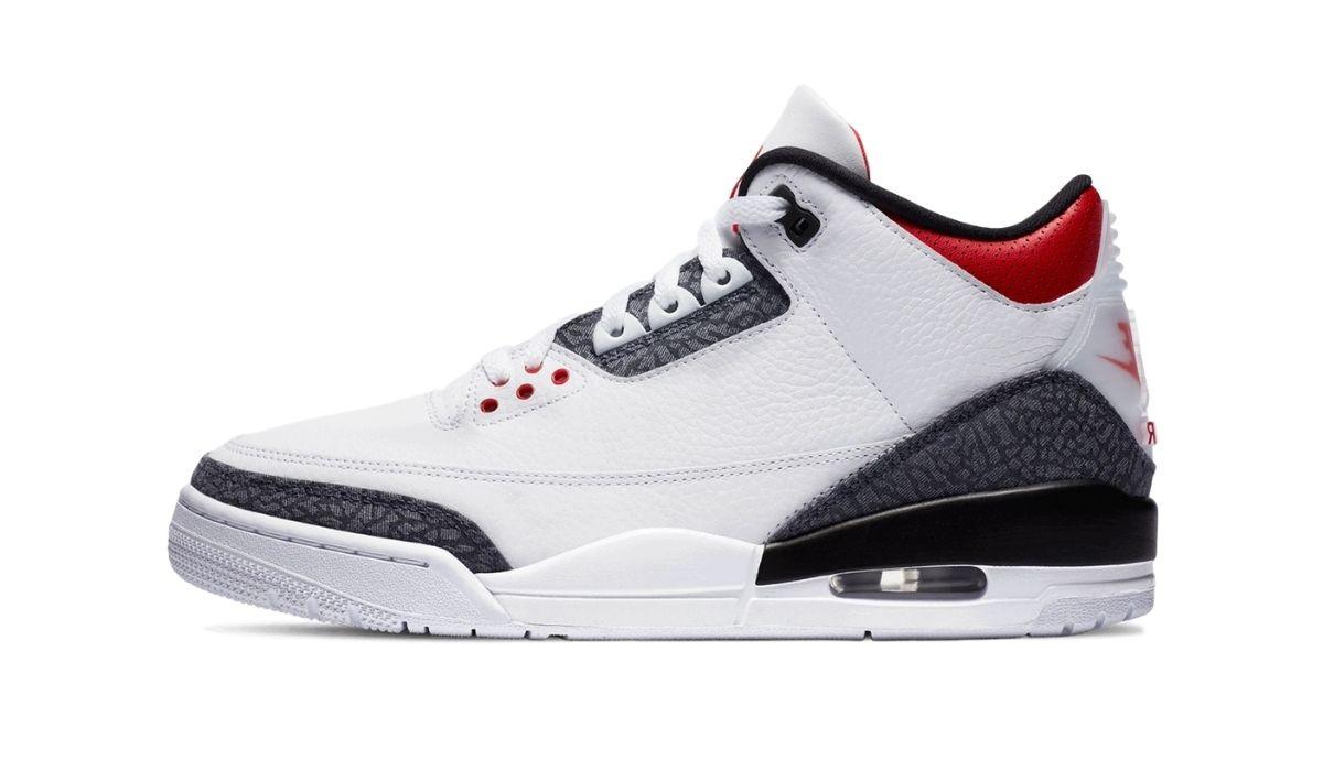 Nike Air Jordan 3 Retro SE Denim Fire Red