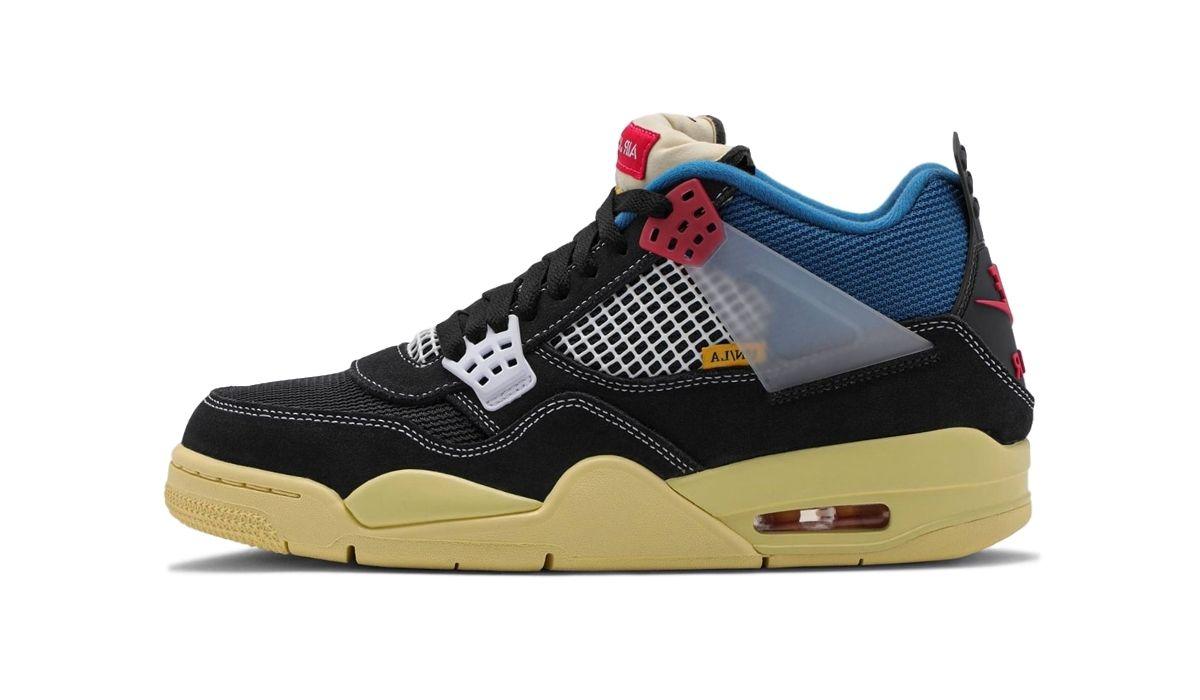 Union x Nike Air Jordan 4 Off Noir