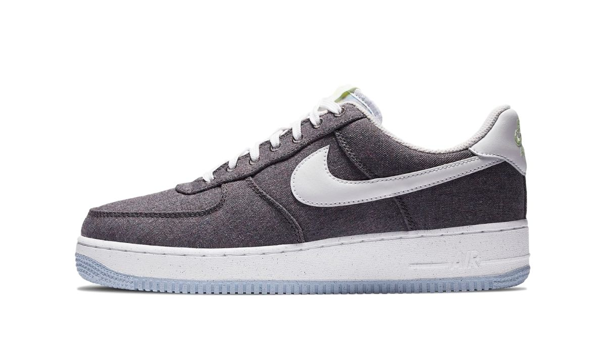 Nike Air Force 1 Recycled Canvas Grey