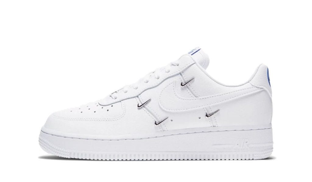 Air Force 1 Mini Sølv Nike Logo